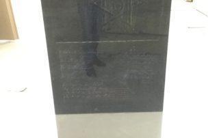 Процесс упаковки памятника