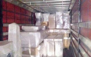 Упаковка мебели и личных вещей, погрузка в авто