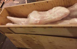 Процесс упаковки розовой пантеры