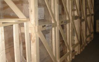 Упаковка оборудования, хранение на складе