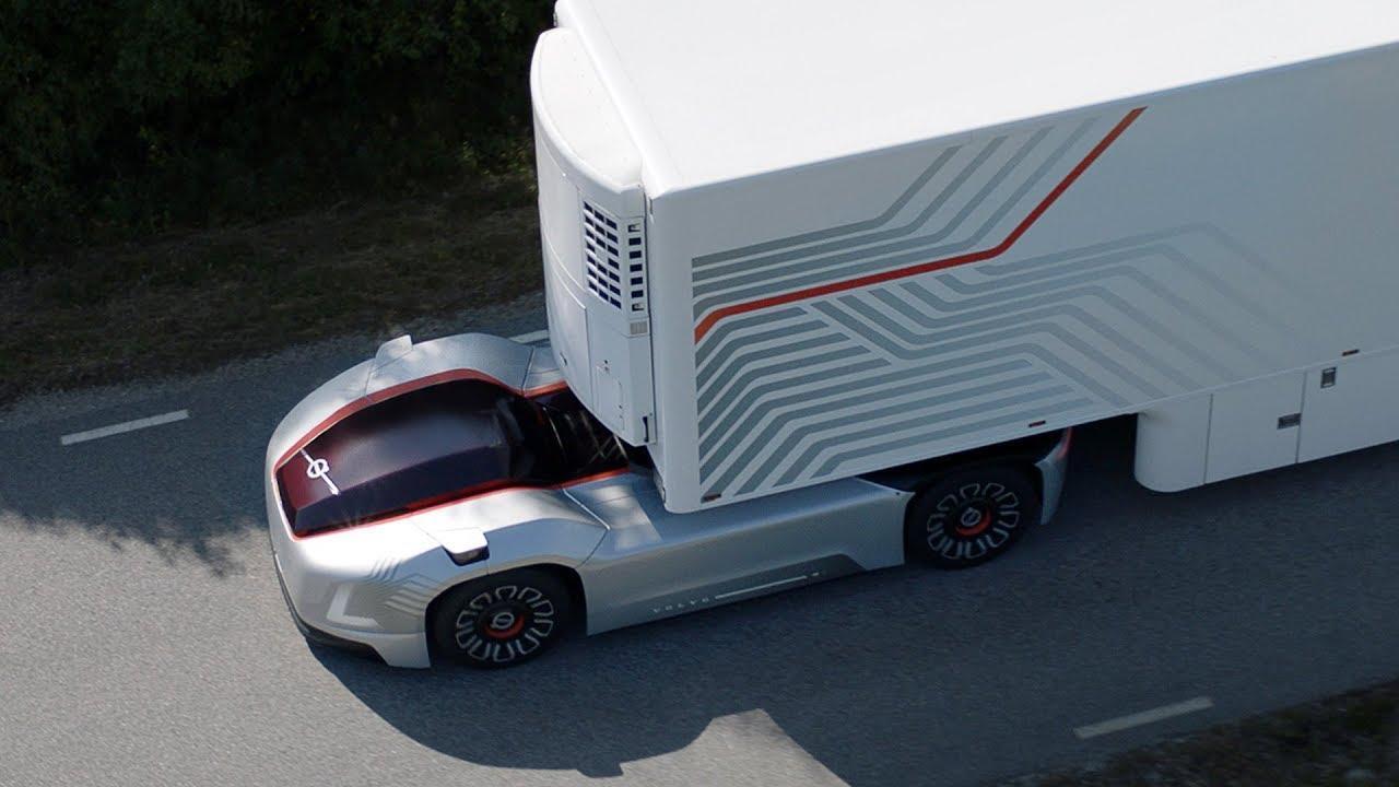 Беспилотный автомобиль для перевозки грузов