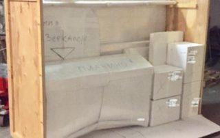 Упаковка мебели и личных вещей (пианино, зеркало..)