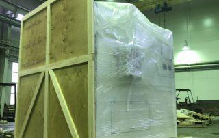 Упаковка крупного оборудования