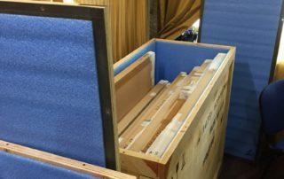 Упаковка картин и предметов искусства