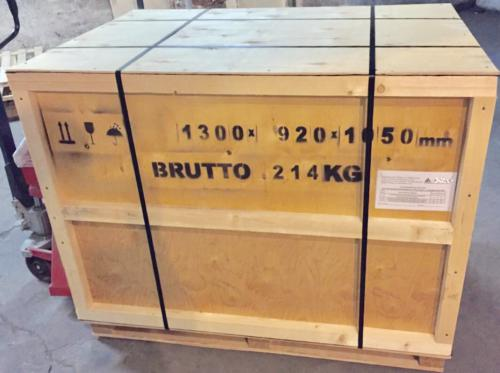 Упаковка оборудования
